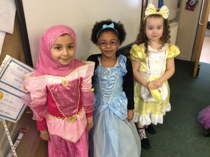Our storybook princesses