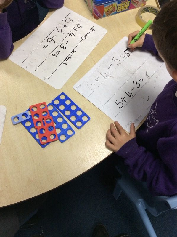 Asking for challenging number sentences